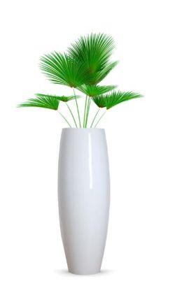 Design Pflanzgefäß Magnum in Weiß