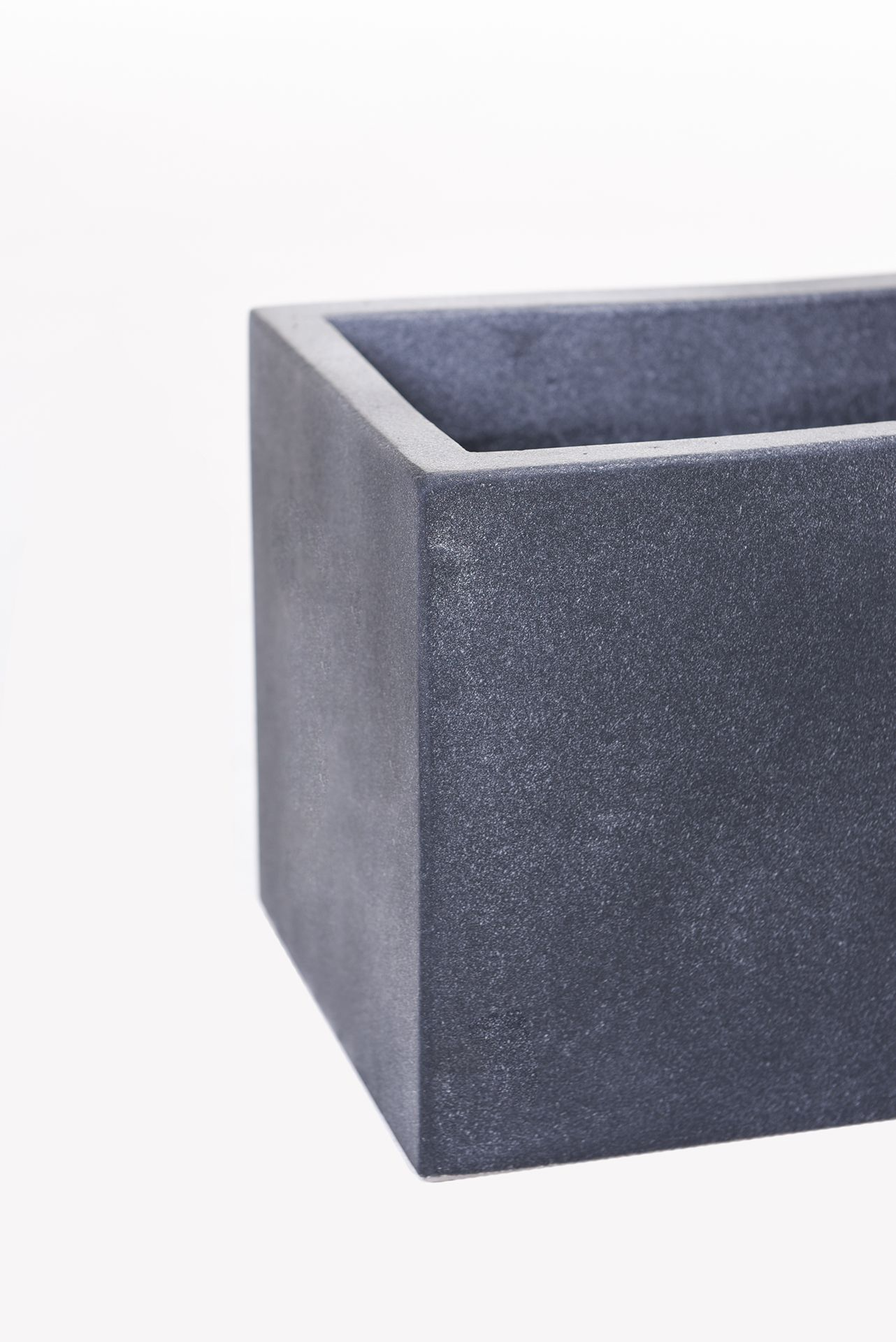"blumenkasten balkonkasten pflanzkasten aus beton ""flobo"", 60 cm"