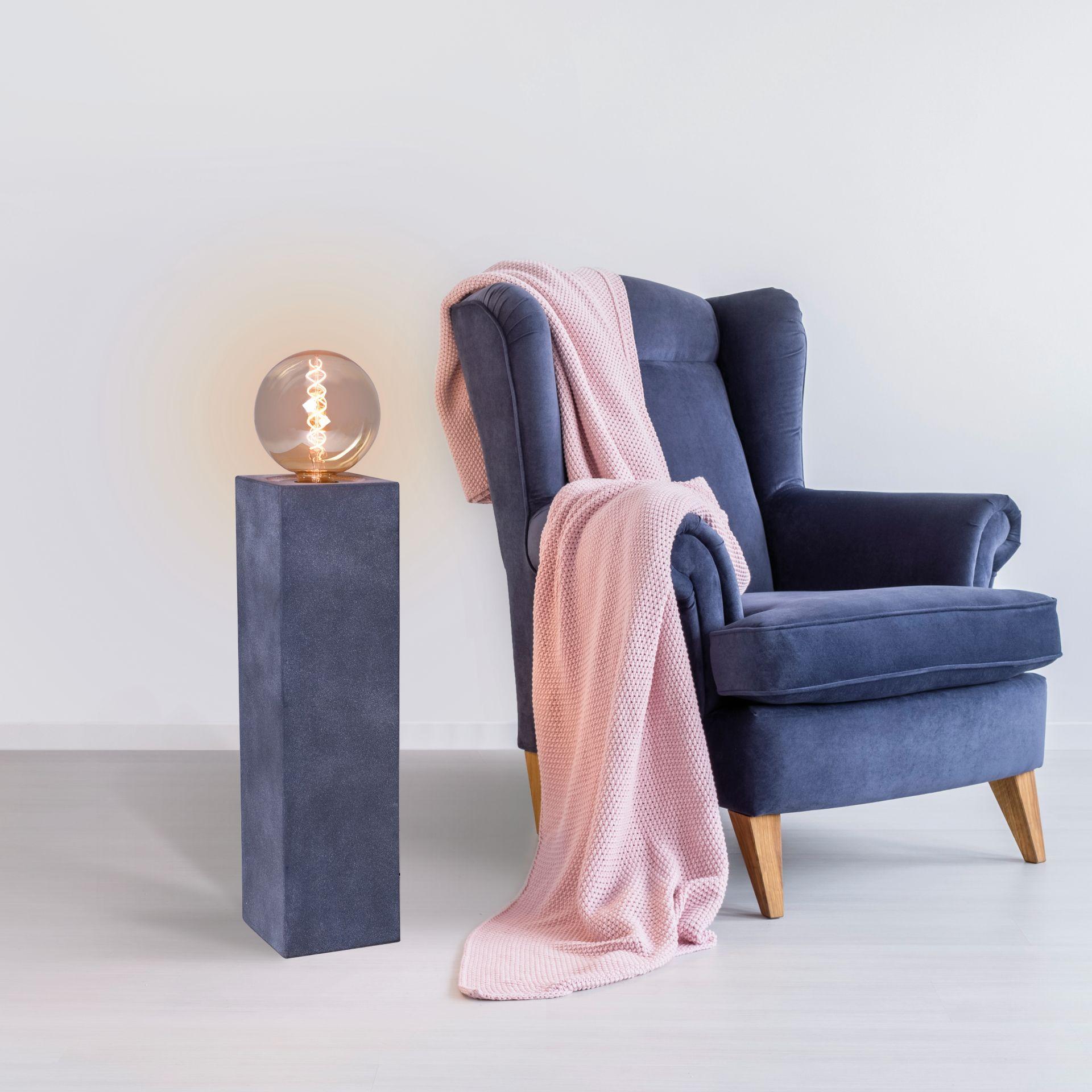 Design Lichtsäule Podestleuchte Podest Lampe Beton \