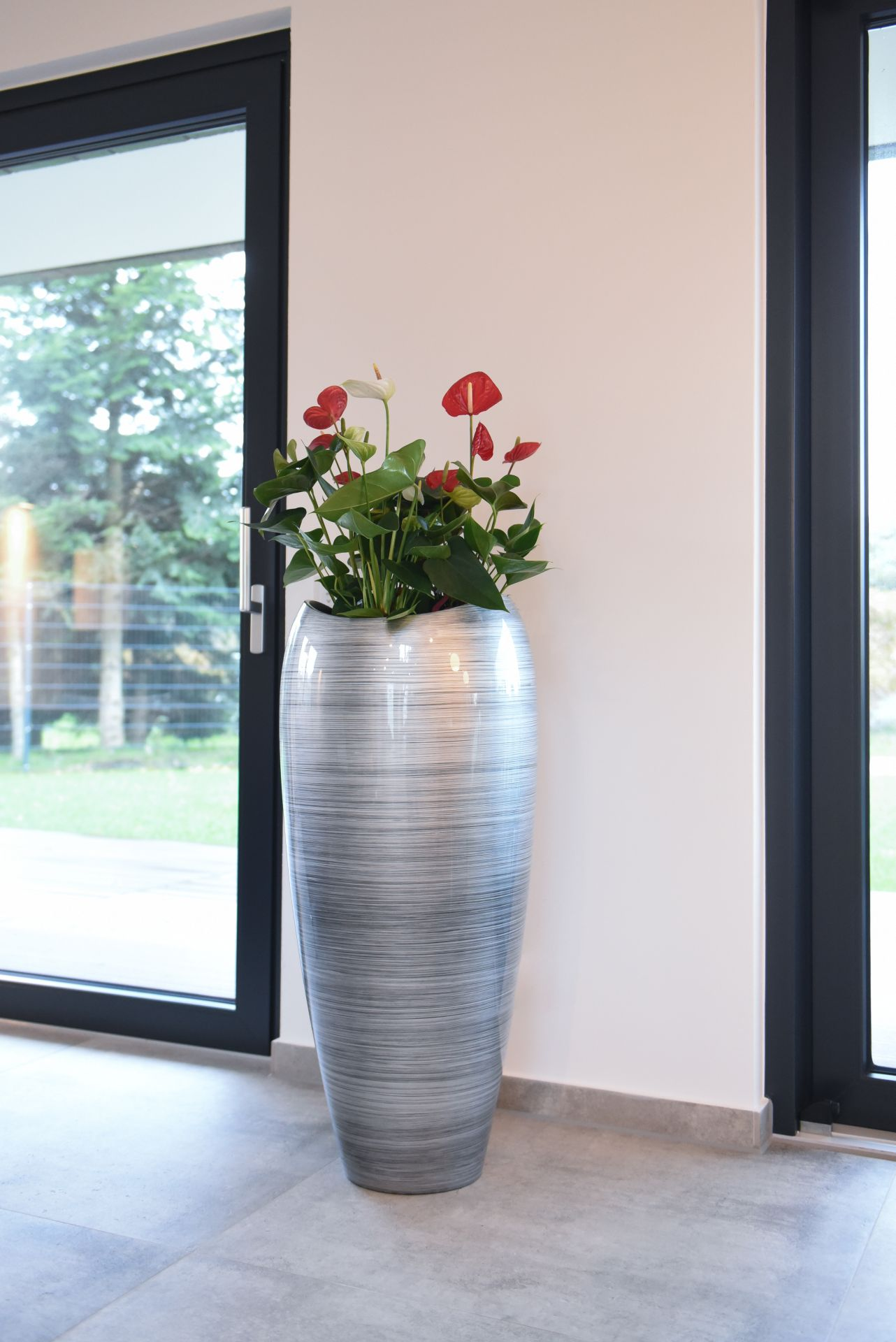 pflanzk bel pflanzgef exklusiv deluxe 100 cm hoch. Black Bedroom Furniture Sets. Home Design Ideas