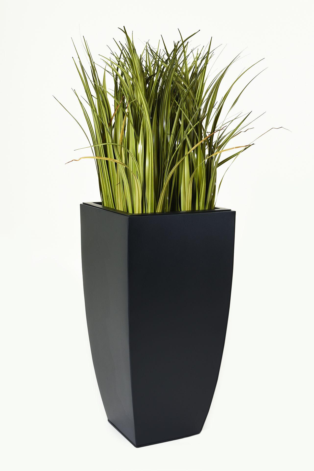 pflanzk bel timeless 80 cm pulverb stahlblech bew sserungsset schwarz ebay. Black Bedroom Furniture Sets. Home Design Ideas