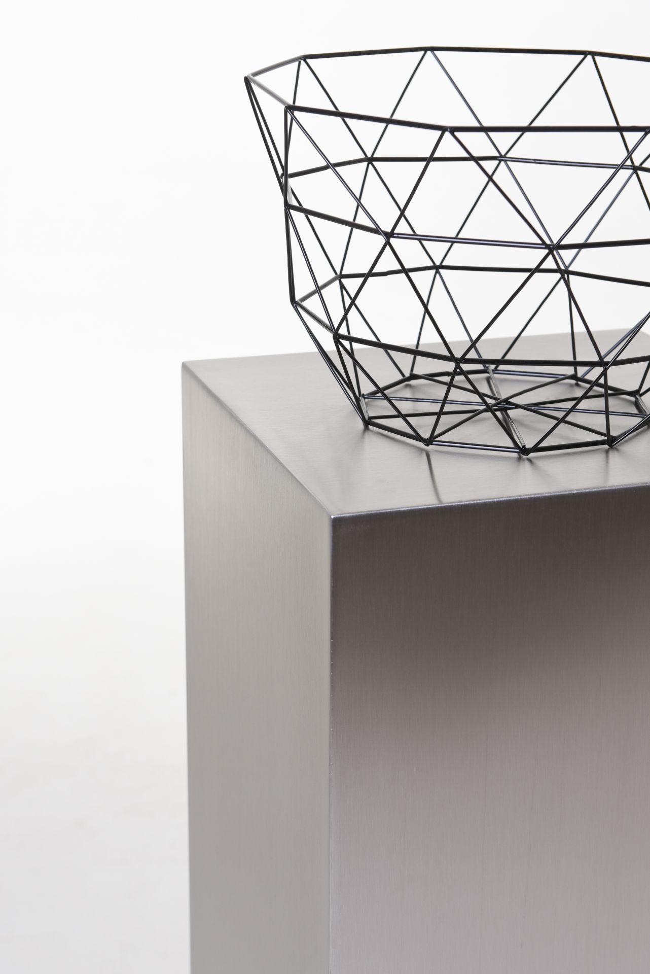 podest s ule dekos ule blumens ule aus edelstahl 80 cm. Black Bedroom Furniture Sets. Home Design Ideas