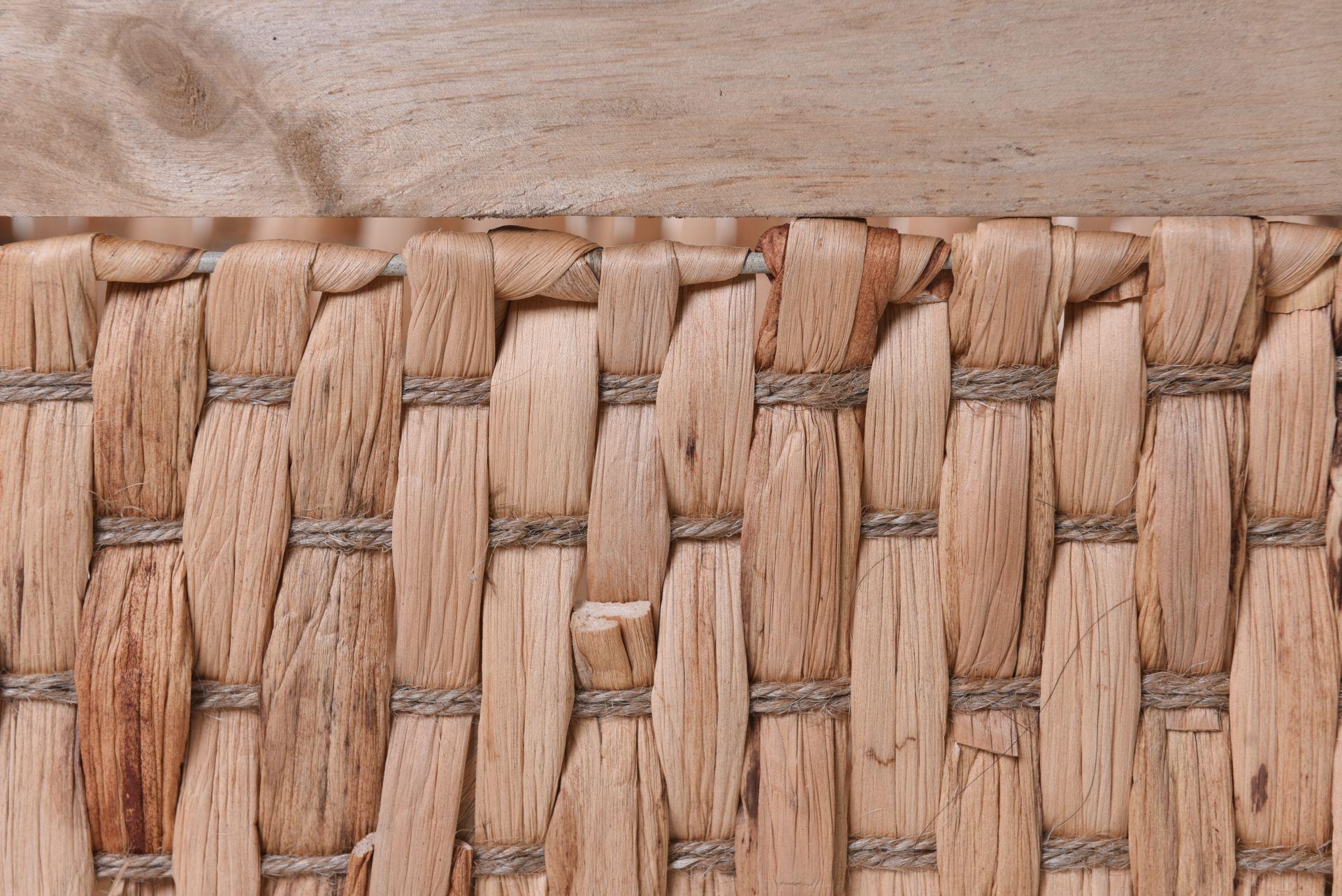 2er set regalkorb schrankkorb yella wasserhyazinthe und. Black Bedroom Furniture Sets. Home Design Ideas