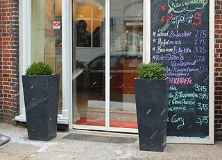 Worldcoffee: 2 Pflanzkübel Classic als Portalvasen