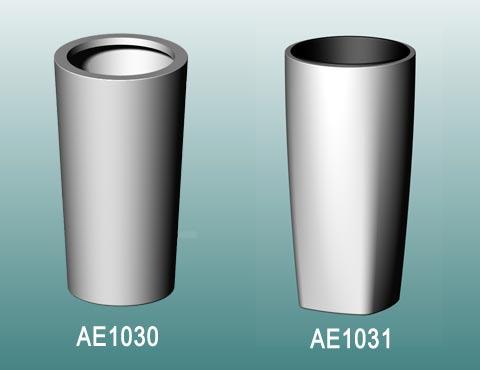 Runde Blumenkübel: AE1030 und AE1031