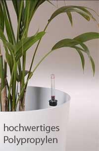 Pflanzkübel aus Polypropylen in weiß