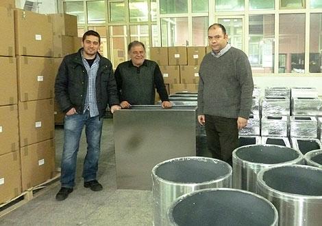 die neuen Partner in Istanbul