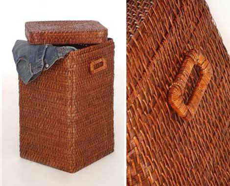 Wäschekorb PIA aus Rattan