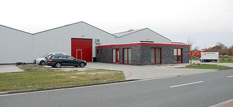 AE Trade: das neue Verwaltungsgebäude
