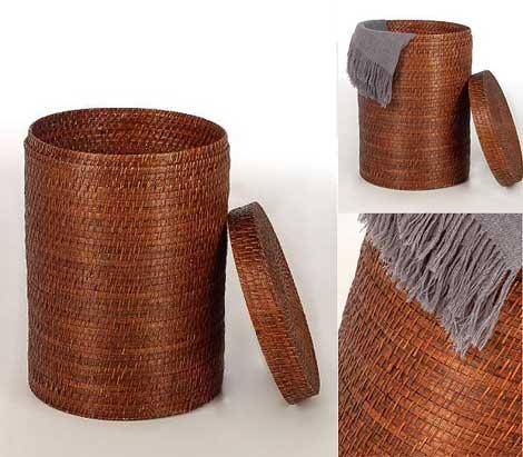 Wäschekorb TAMA aus Rattan