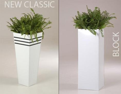 Elegantes Design, zeitlos modern: Neue Blumenkübel aus Fiberglas ...