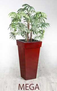 Blumenkübel MEGA aus Zink