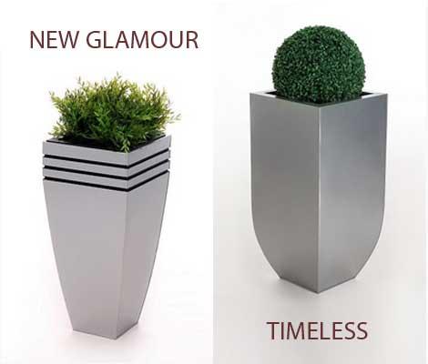 Blumenkübel NEW Glamour und TIMELESS