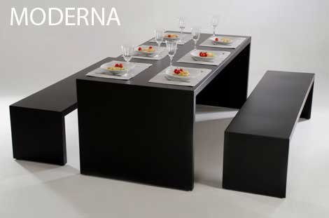 3er-Set Sitzgruppe Moderna 200