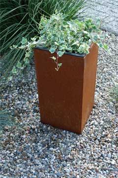 Pflanzkübel BLOCK aus Cortenstahl