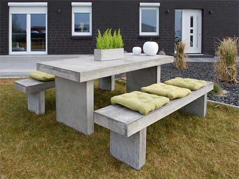 Gartenmobel News Zwei Neue Sitzgruppen Aus Beton Im Minimal Design
