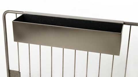 Neue Pflanzkübel Aus Zink Und Schicke Balkonkästen Aus Edelstahl