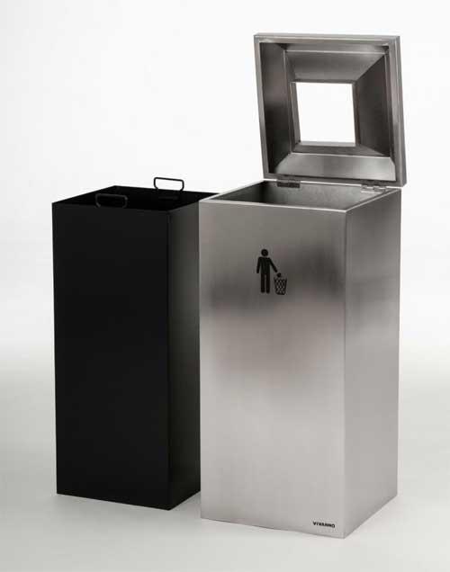 elegant und praktisch design m lleimer und ascher aus. Black Bedroom Furniture Sets. Home Design Ideas