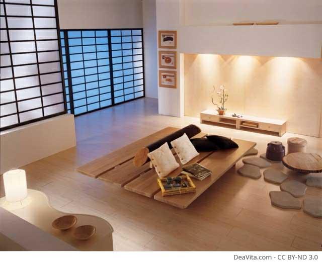 Japanisch wohnen im ZEN Stil