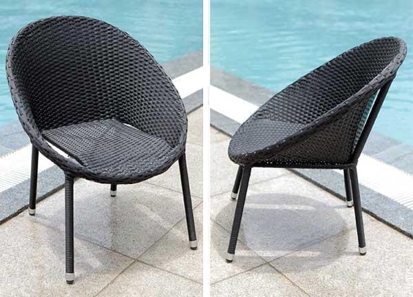 Gartenstühle rattan  Neue Gartenmöbel aus Polyrattan: modern, schick und unkaputtbar ...