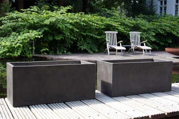 cooles design klassische pflanzk bel aus fiberzement pflanzk bel blog von ae trade. Black Bedroom Furniture Sets. Home Design Ideas