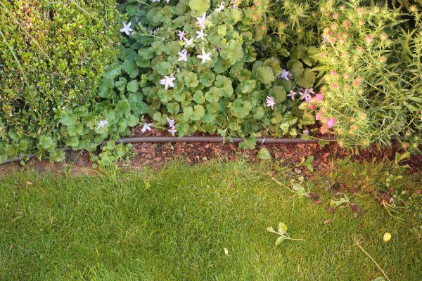 Tropfschlauch Bewässerung Garten