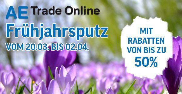 Frühjahrsputz 2017 AE Trade Online