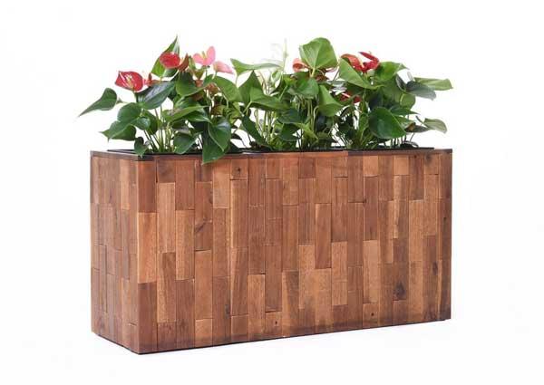 Raumteiler Elemento aus Akazienholz