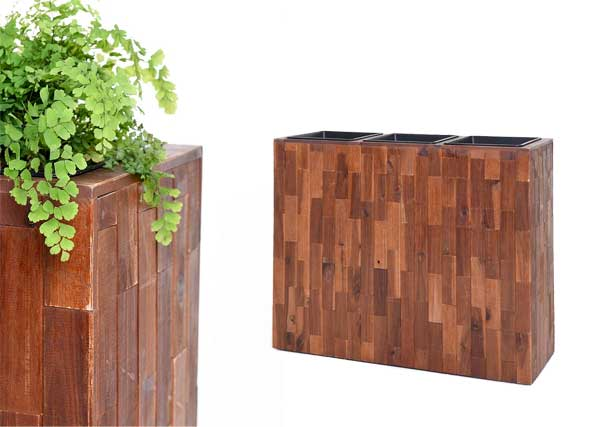 Raumteiler Elemento Akazienholz