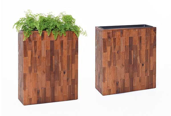 PFlanzkübel ELEMENTO 60x75 Akazienholz