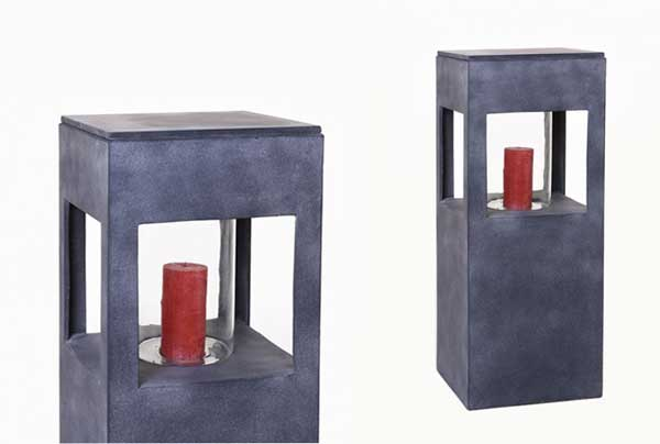 stimmungsvoll windlichter aus fiberglas in steinoptik und beton pflanzk bel blog von ae trade. Black Bedroom Furniture Sets. Home Design Ideas