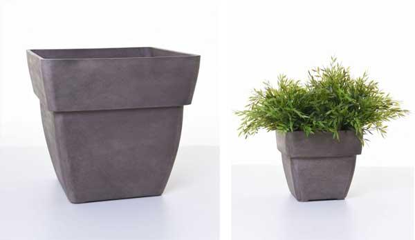Neu: Pflanzkübel und Blumenkasten mit schickem Breitrand ...