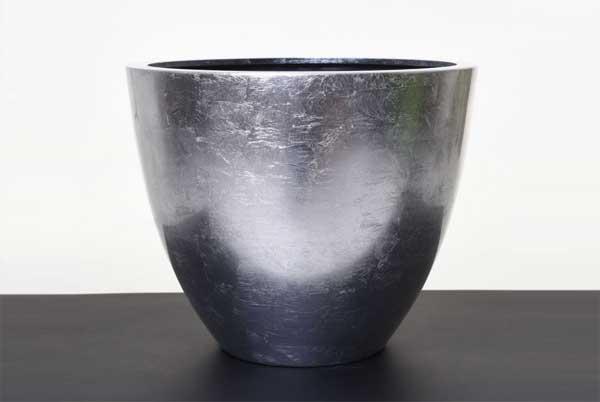 Pfanzkübel FLOMARA silber