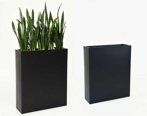 Raumteiler Elemento schwarz Stahlblech
