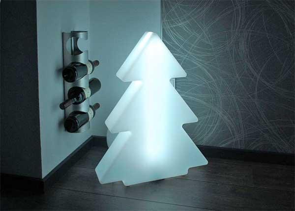 Weihnachtsstimmung mit led dekoleuchten stern tanne schnee pflanzk bel blog von ae trade - Led deko tanne ...