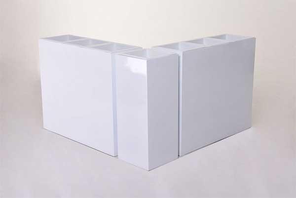 Eckkombination Corner in Weiß